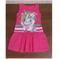 Vestido unicornio interativo fofo - 2 anos - Kamillus