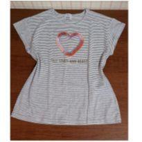 Blusa coração franjinhas Fuzarka - 10 anos - Fuzarka