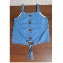 Blusinha jeans Hering - 6 anos - Hering