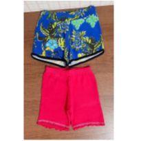 Dois shorts confortáveis para o dia a dia - 4 anos - Hlerinha