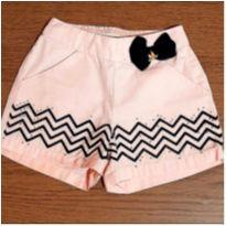 Shorts laço charmoso - 3 anos - Miss Trm