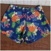Shorts Marisol tropical - 2 anos - Marisol