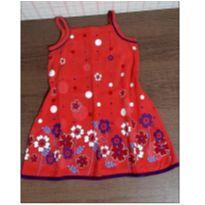 Vestido meigo florzinhas - 2 anos - Jujuba Kids
