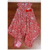 Vestido Malwee assimetrico lindo - 3 anos - Malwee