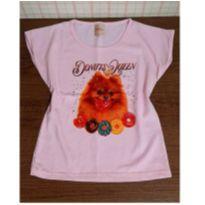 Blusa cachorrinho com donuts - 4 anos - vick