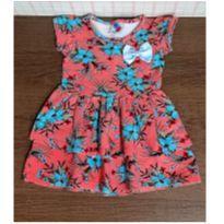 Vestido cotton floral - 2 anos - HDU Kids