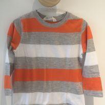 Camiseta manga longa H&M - 12 a 18 meses - H&M