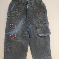 Calça jeans da marca francesa Orchestra - 9 a 12 meses - Orchestra - France