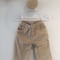 Calça de veludo cru - 6 meses - KANZ