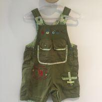 Macaquinho verde da marca francesa Marèse - 9 meses - Marèse