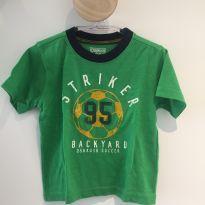 Camiseta futebol - 18 meses - OshKosh