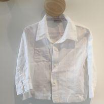 Camisa branca - 12 a 18 meses - baby happy