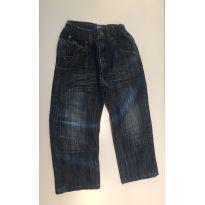 Calça Jeans Tip Top com cintura regulável - 3 anos - Tip Top