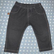 Calça tipo jeans tam. M - 3 a 6 meses - Alô bebê