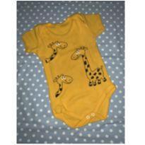 Body girafinha 6/9m - 6 a 9 meses - Sem marca