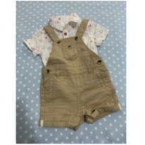 Conjunto macacão e blusa - 9 meses - Kiabi e Kiabi Baby