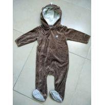 Macacão de bichinho: Esquilo! Novinho! - 6 a 9 meses - Baby Club