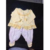Macacão Luxo - 9 meses - Beth Bebê