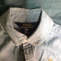 Camisa feminina - Polo Ralph Lauren - 3 anos - Ralph Lauren