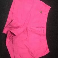 Short em sarja rosa - Polo Ralph Lauren - 12 anos - Polo wear