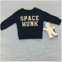 Casaco Space Hunk - 6 meses - Carter`s