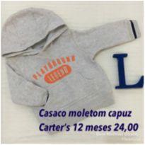 Casaco Carter's de capuz - 1 ano - Carter`s