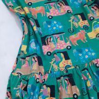Vestido Fábula TukTuk - 10 anos - Fábula