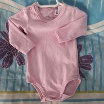 Body rosa - Recém Nascido - Malwee