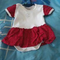 Body vestidinho - 3 a 6 meses - Sof & Enz KIDS