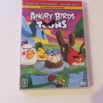 DVD Angry Birds primeira temporada - Sem faixa etaria - Não informada
