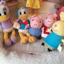 Reservado Edneia Lote mini pelúcias - Sem faixa etaria - Disney