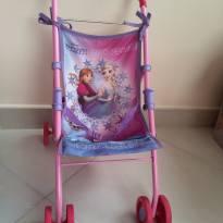 Reservado Edneia Carrinho para boneca da Frozen - Sem faixa etaria - Multibrink