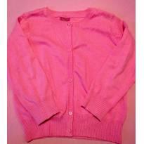 Cardigã rosa tam 4 - 4 anos - Nacional