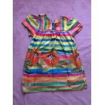 Vestido Íris Fabula - 6 anos - Fábula