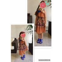 Vestido Bebe Au Lait - 6 anos - Nacional