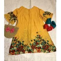 Vestido Bellaflor raridade - 4 anos - Bella Flor