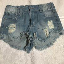 Short destroyed jeans - 6 anos - Renner