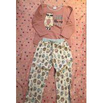 Pijama flanelado - 6 anos - Have Fun
