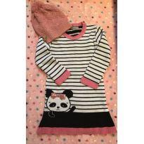 Vestido Panda em lã - 6 anos - Nacional