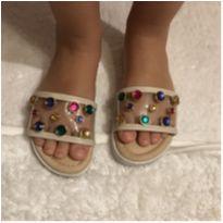 Sandália pedras - 28 - Menina Rio