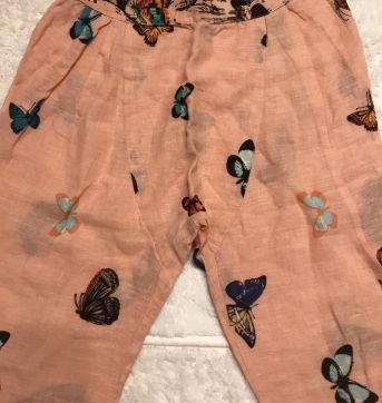 Calça saruel borboletas - 6 anos - Fábula
