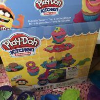 Fábrica de cupcake Play Doh