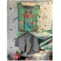 Dois em vestido e macaquinho - 8 anos - Alphabeto