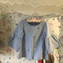Bata jeans Alphabeto - 8 anos - Alphabeto