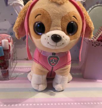 Pelúcia SKY patrulha canina - Sem faixa etaria - DTC