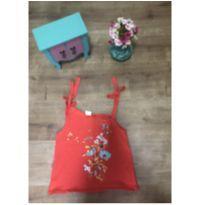 Camiseta com estampa de flores Zara - 8 anos - Zara Kids