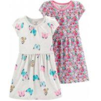 Kit vestido infantil Carters 3T (NOVO) - 3 anos - Carter`s