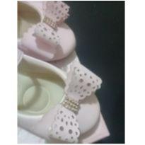 Sapatinho Boneca rosa claro - 21 - Fun Shoes
