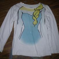 Camisa Frozen com capa - 3 anos - Disney