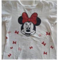 Camiseta branca Minnie Mouse - 4 anos - Disney